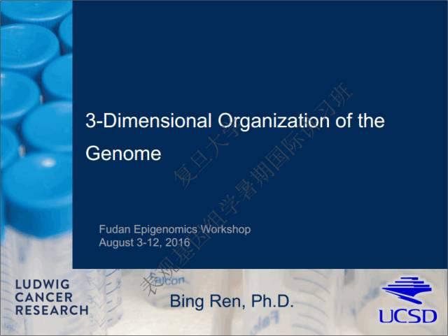 表观遗传系列视频1|3D与4D基因组及应用图
