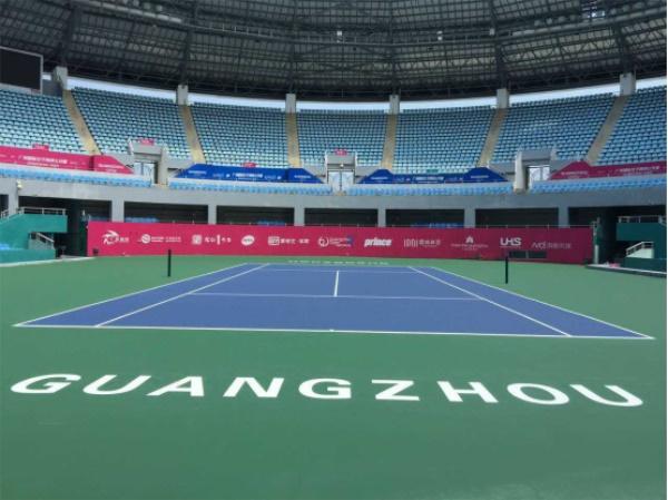 广东奥林匹克体育中心网球馆图