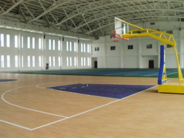 天津金融学院PVC篮球场图
