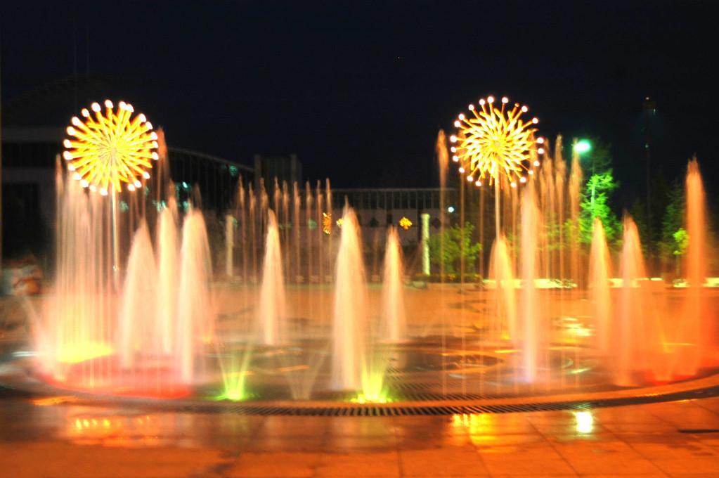 喷泉的类型的介绍图