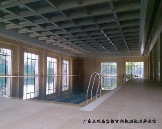 广东省珠岛宾馆室内恒温恒湿游泳馆图