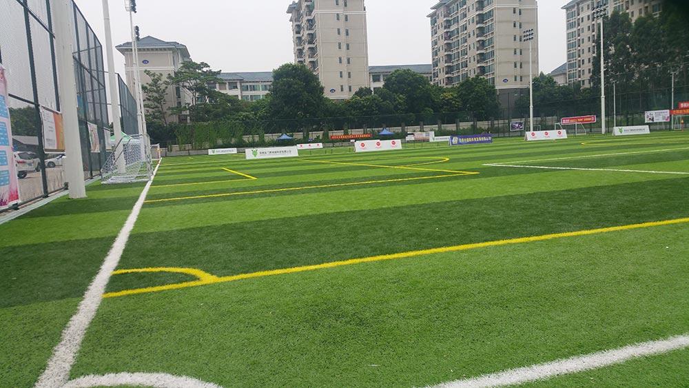 人造草足球场图