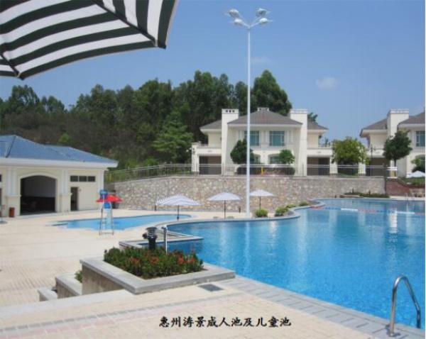 惠州涛景成人池及儿童池图